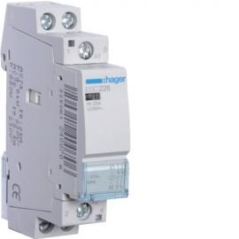Контактор - силовое реле Hager ESC-226