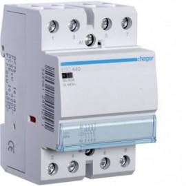 Контактор - силовое реле Hager ESC-440